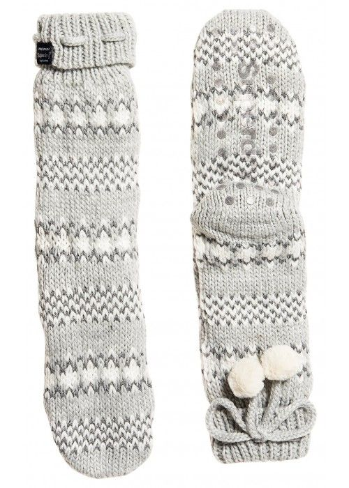 Superdry Sparkle fairisle slipper