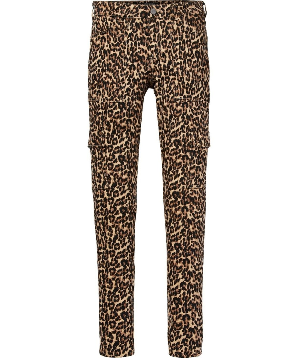 Maison Scotch Skinny fit pant with patch poc