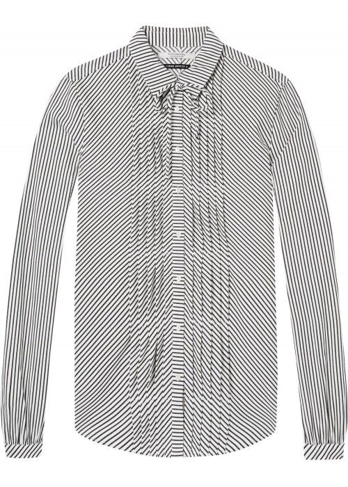 Maison Scotch Feminine stripe shirt