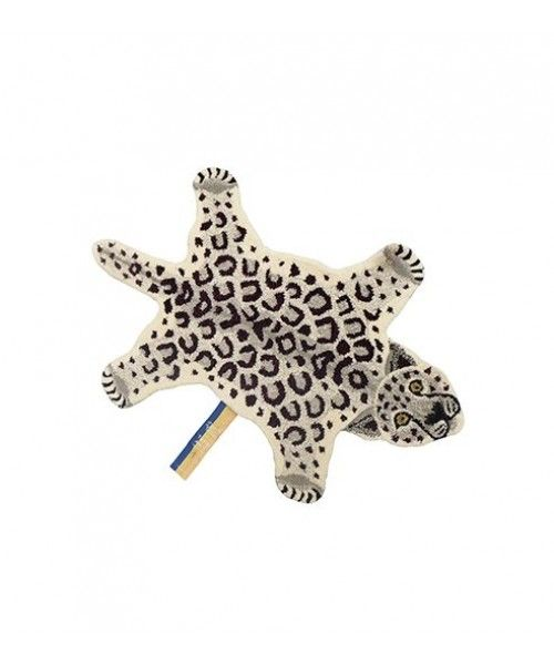 Doing Goods Snowy Leopard Rug Small