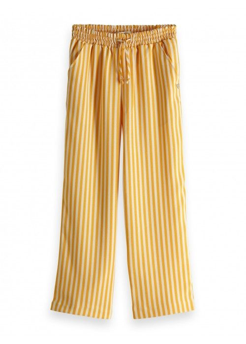 Scotch R'belle Drapey woven wide leg pants