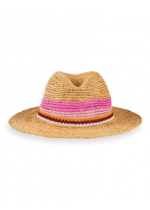 Scotch R'belle Straw hat colourblock