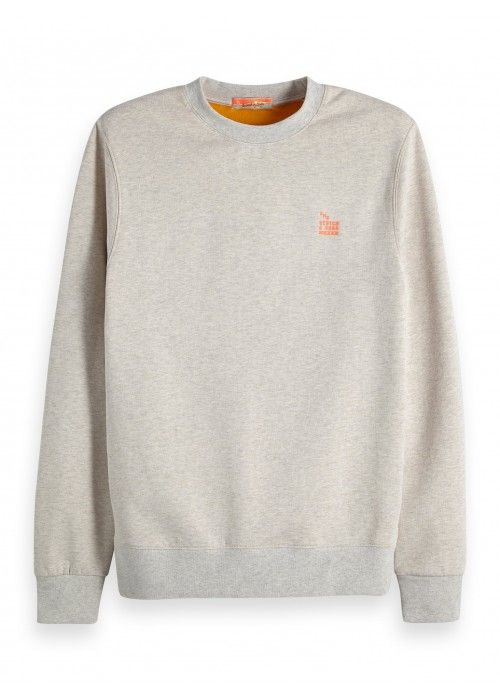Scotch & Soda Felpa sweat with bright loops
