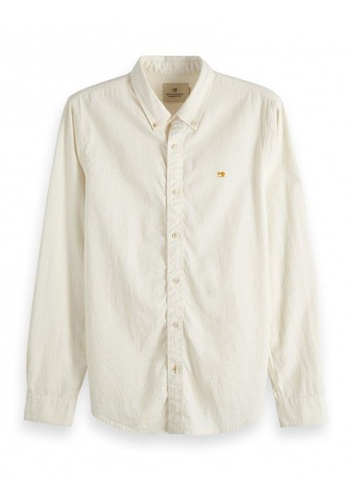 Scotch & Soda Regular fit garment dyed shirt