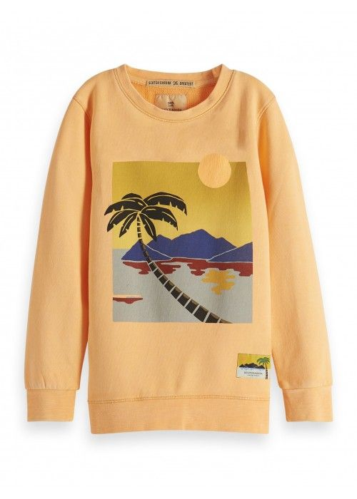 Scotch Shrunk Crewneck sweat scenic poster