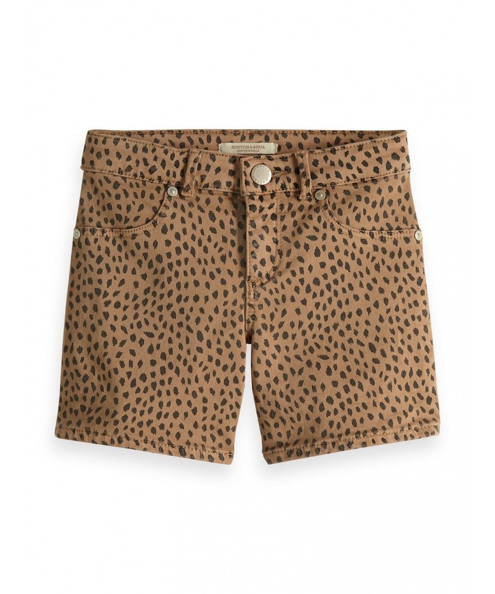 Scotch R'belle Skinny fit shorts allover prin