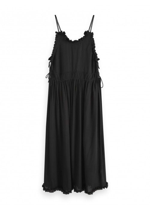 Maison Scotch Viscose summer midi dress