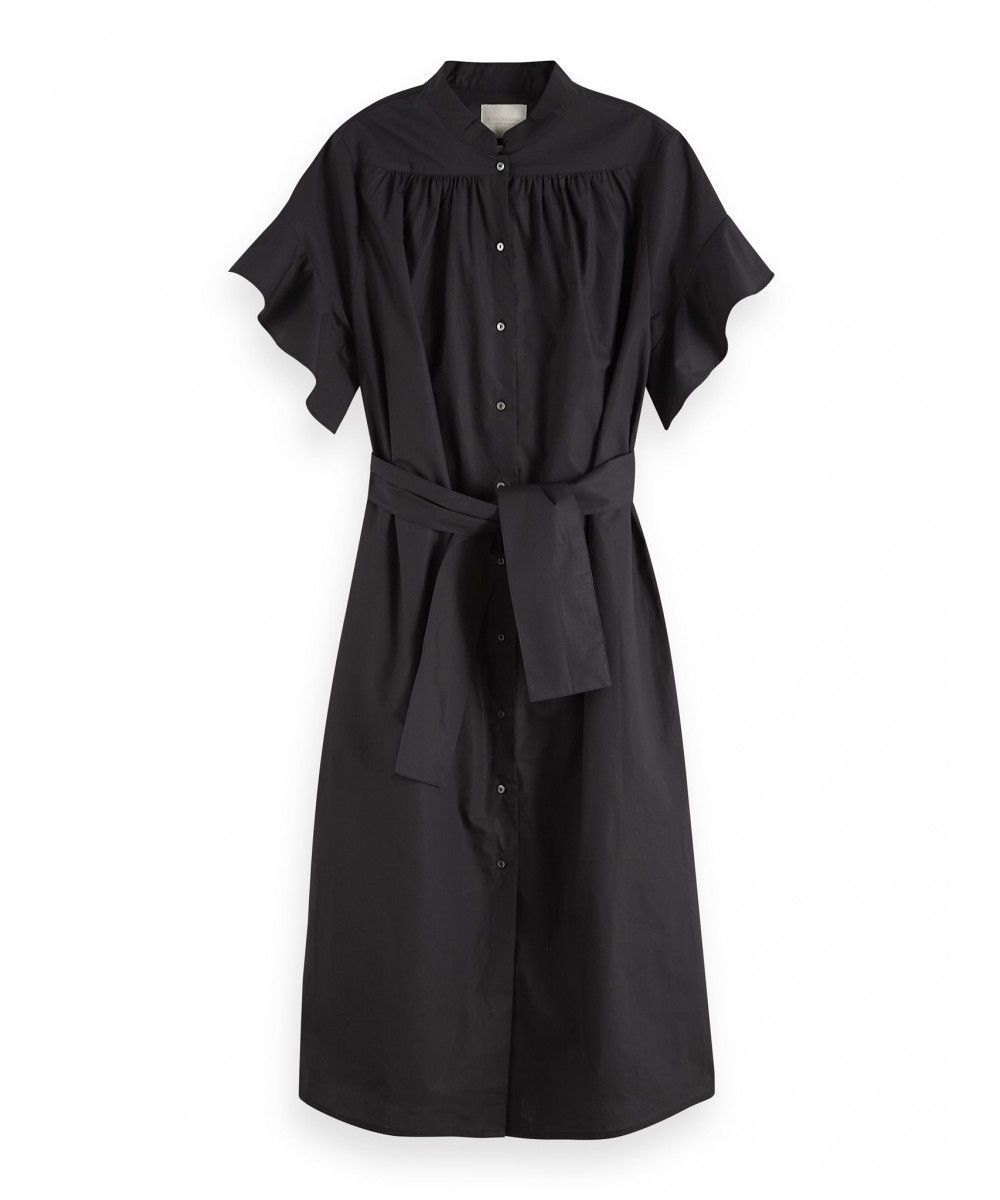 Maison Scotch Midi length cotton dress