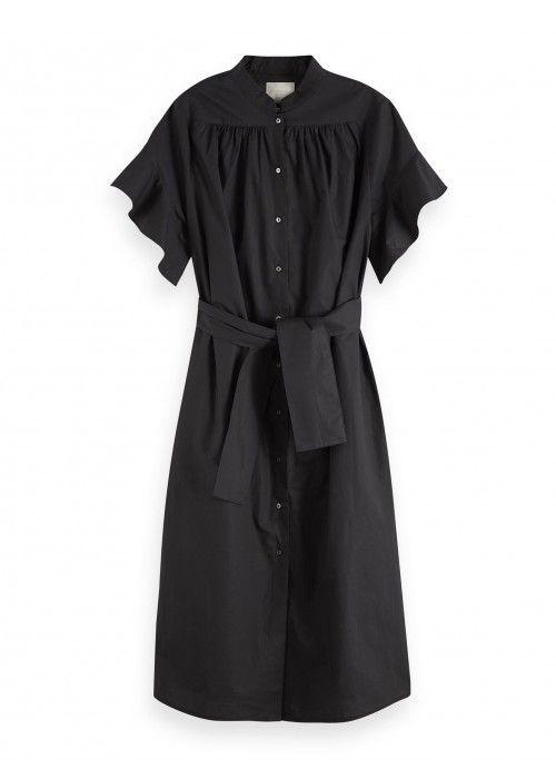 Maison Scotch Midi length cotton dress