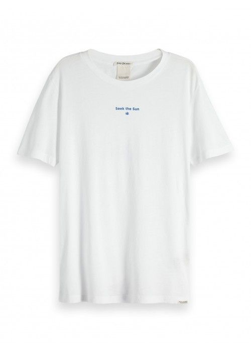 Maison Scotch Organic cotton short sleeve