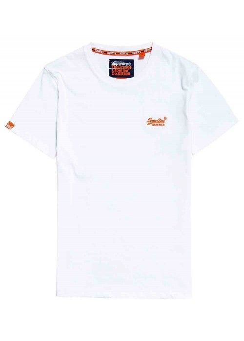 Superdry Orange label neon tee