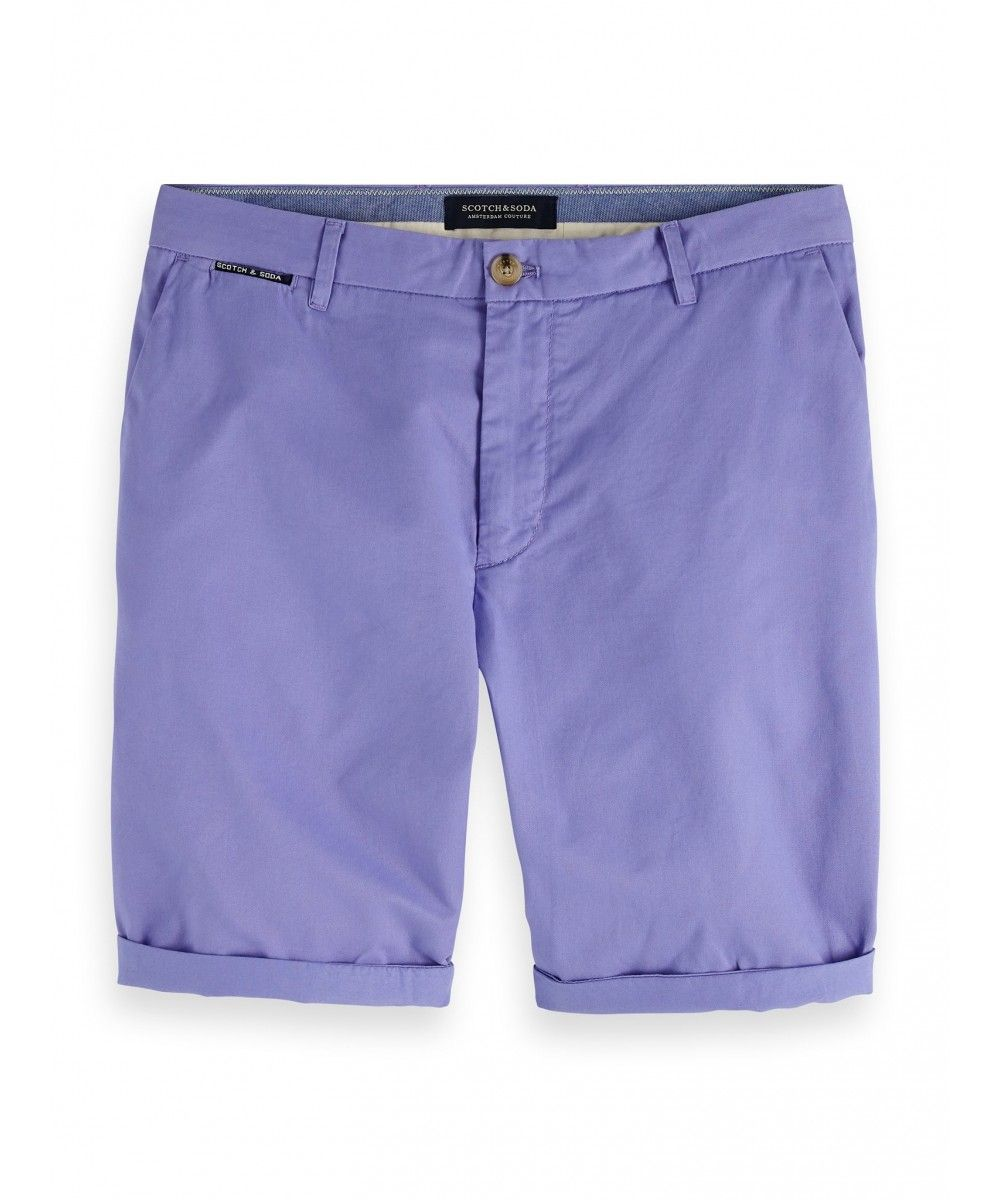 Scotch & Soda Classic chino short cotton qua