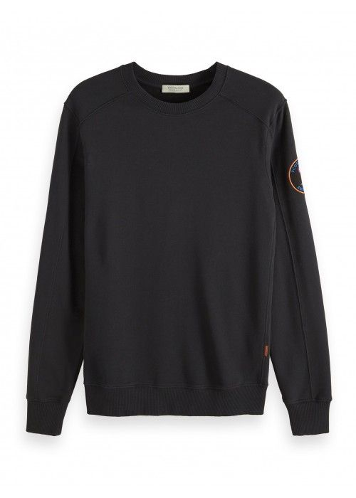 Scotch & Soda Crewneck sweat with back artwo