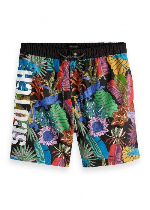 Scotch & Soda swimshort with fun multicol