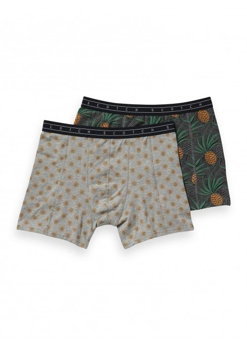 Scotch & Soda All over printed melange boxer