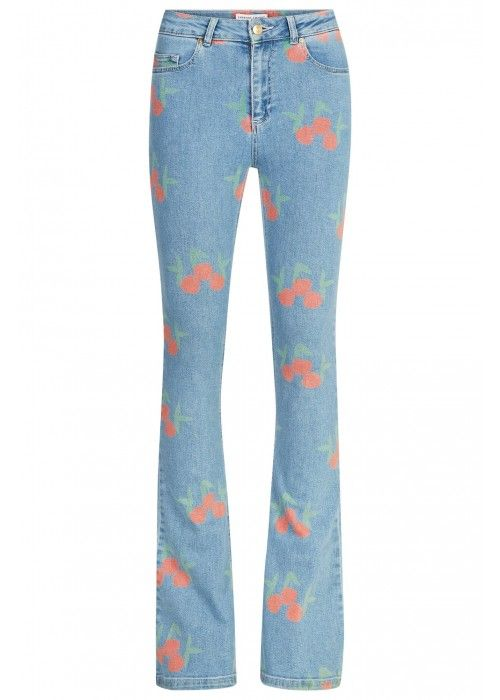 Fabienne Chapot Eva Denim Blue Flair Trouser