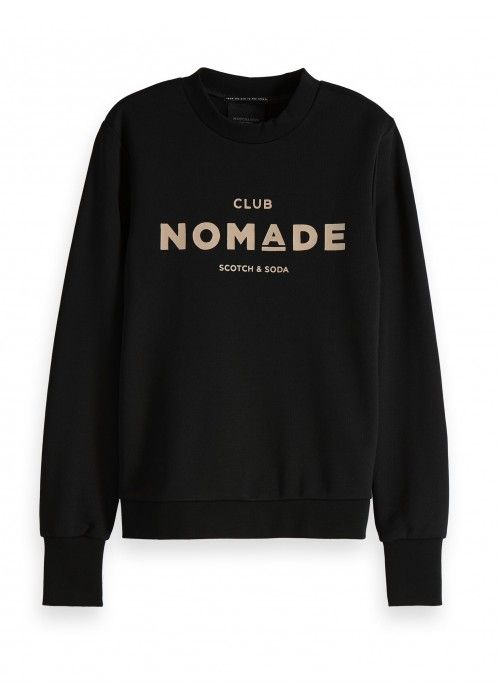 Maison Scotch Club Nomade basic sweat