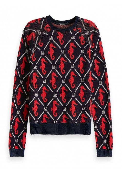Maison Scotch Long sleeve pull in various