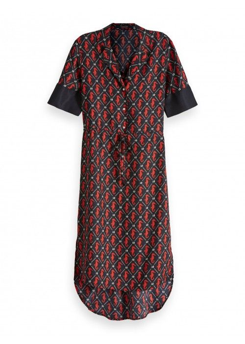 Maison Scotch Allover printed dress
