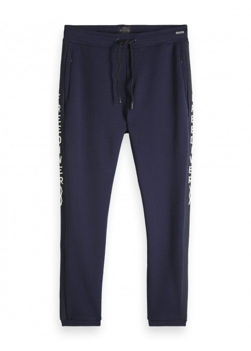 Scotch & Soda Sweatpants with inserted ribs