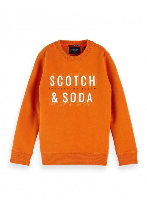Scotch Shrunk Basic S&S sweat in regular