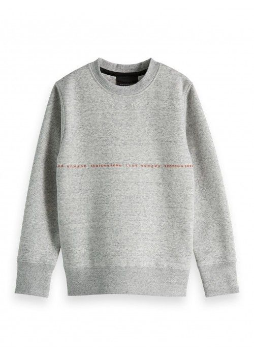 Scotch Shrunk Club Nomade basic crewneck