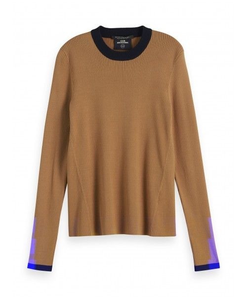 Maison Scotch Clean knitted top