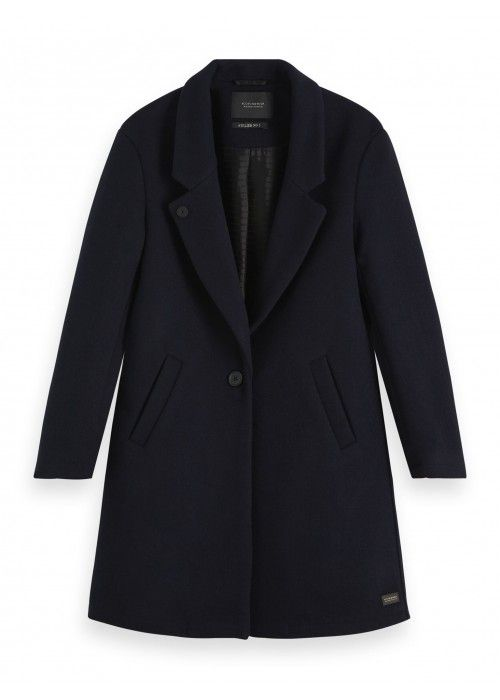 Maison Scotch Classic tailored coat