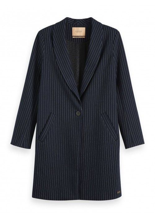 Maison Scotch Tailer jersey coat