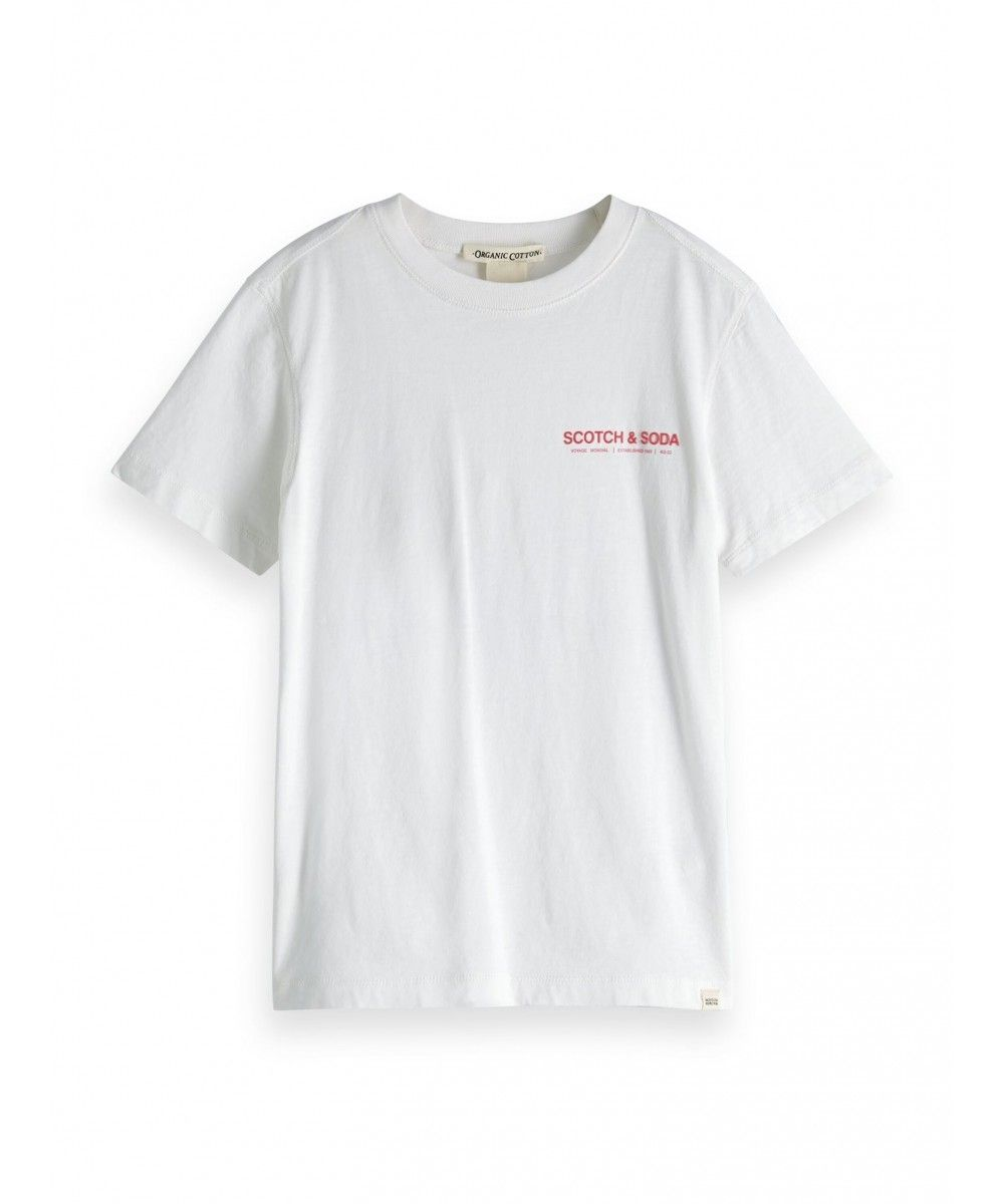 Scotch Shrunk Short sleeve tee in organic
