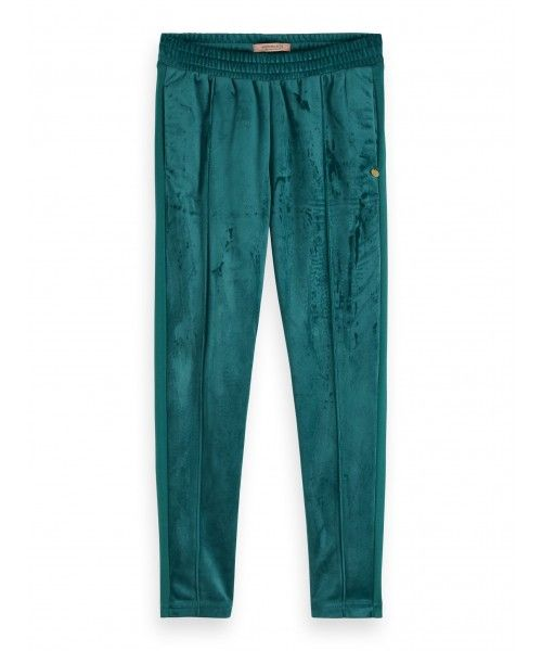 Scotch R'belle Velvet tailored jogger