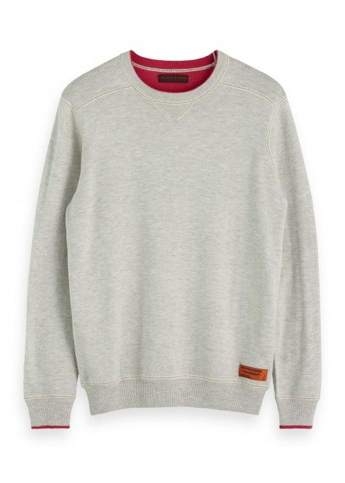 Scotch & Soda Crewneck pull in sweat styling