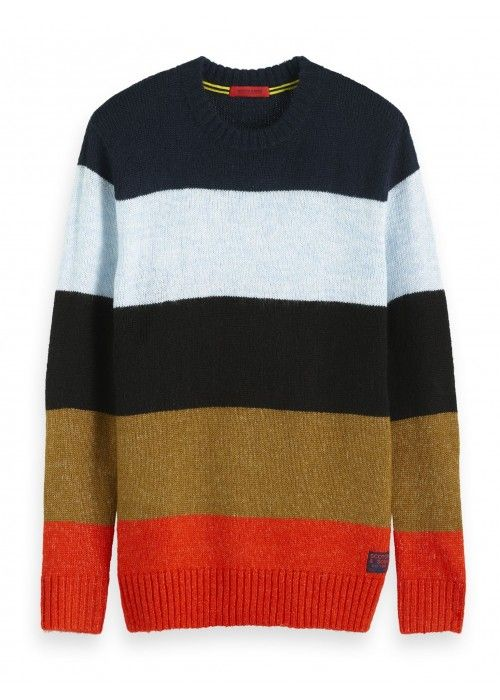 Scotch & Soda Chunky crewneck pull
