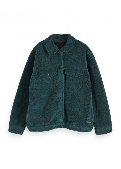 Maison Scotch Short Teddy jacket
