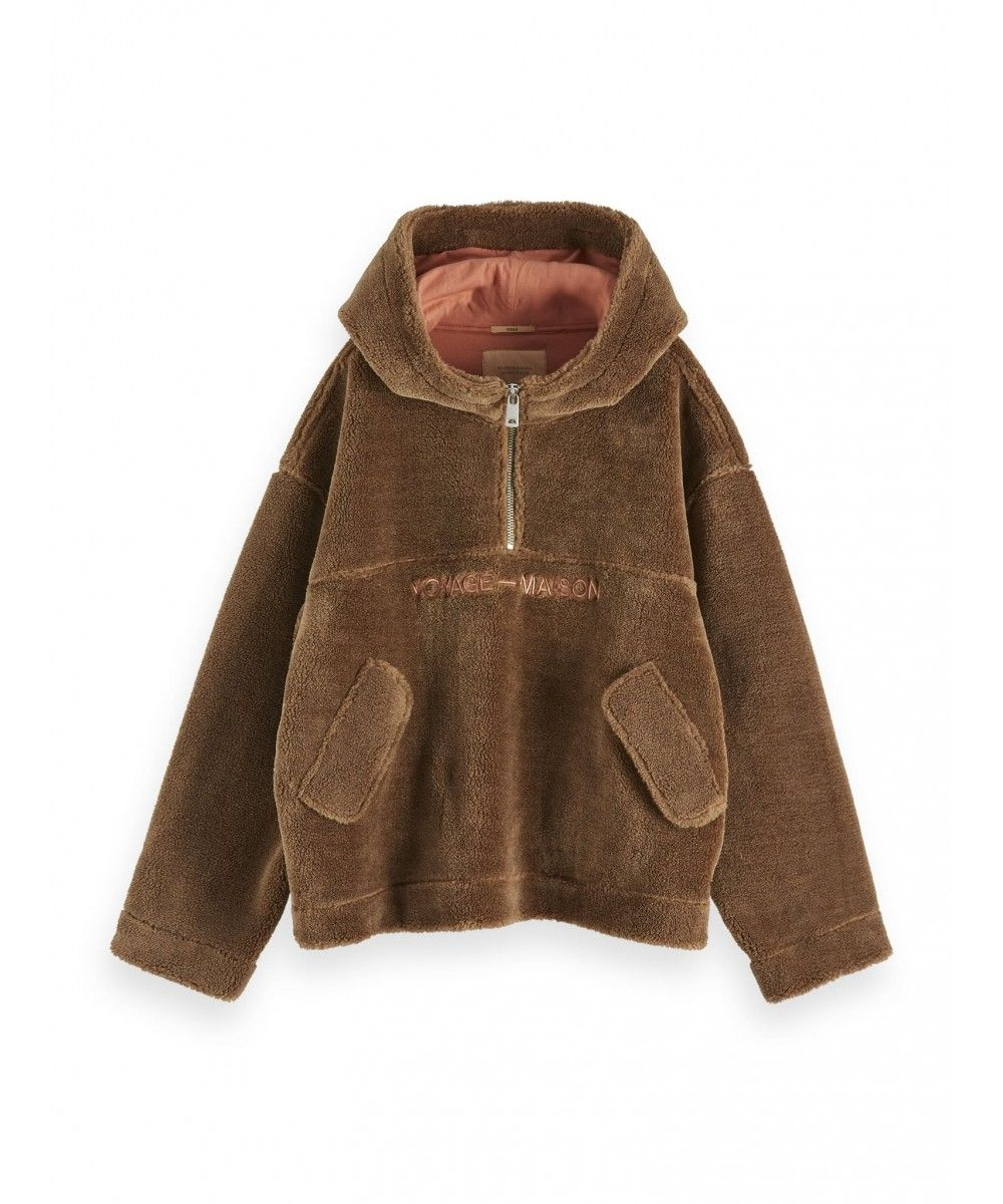 Maison Scotch Teddy anorak jacket