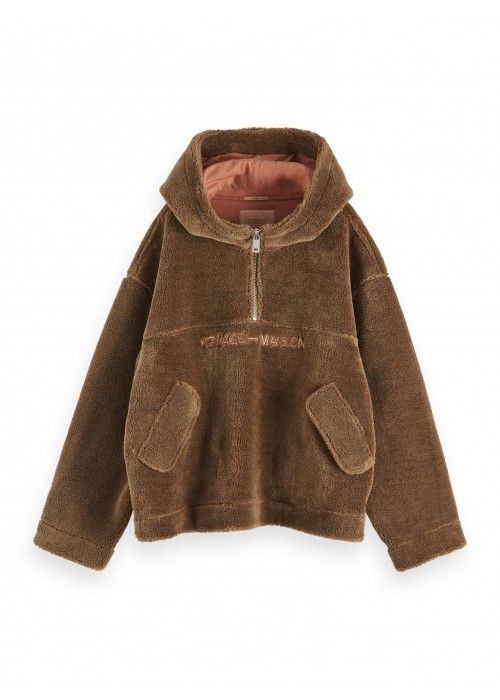 Maison Scotch Teddy anorak jacket