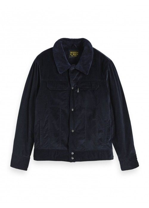 Scotch & Soda Corduroy trucker jacket