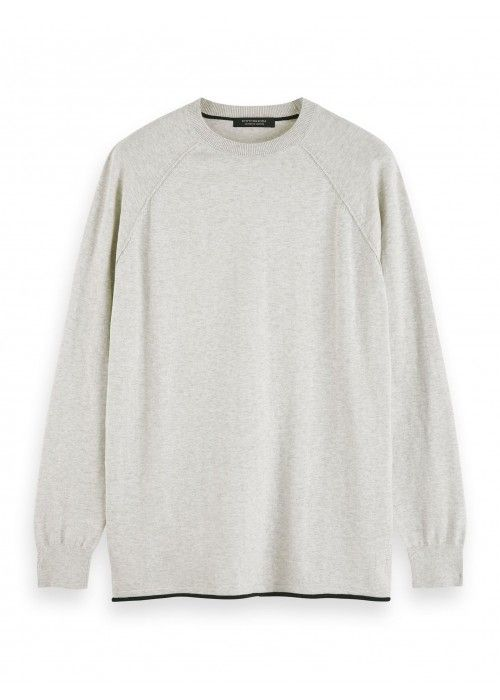 Scotch & Soda Cashmere-blend crewneck
