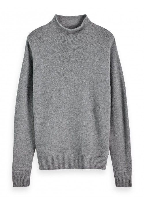 Scotch & Soda Chic soft wool-blend pull