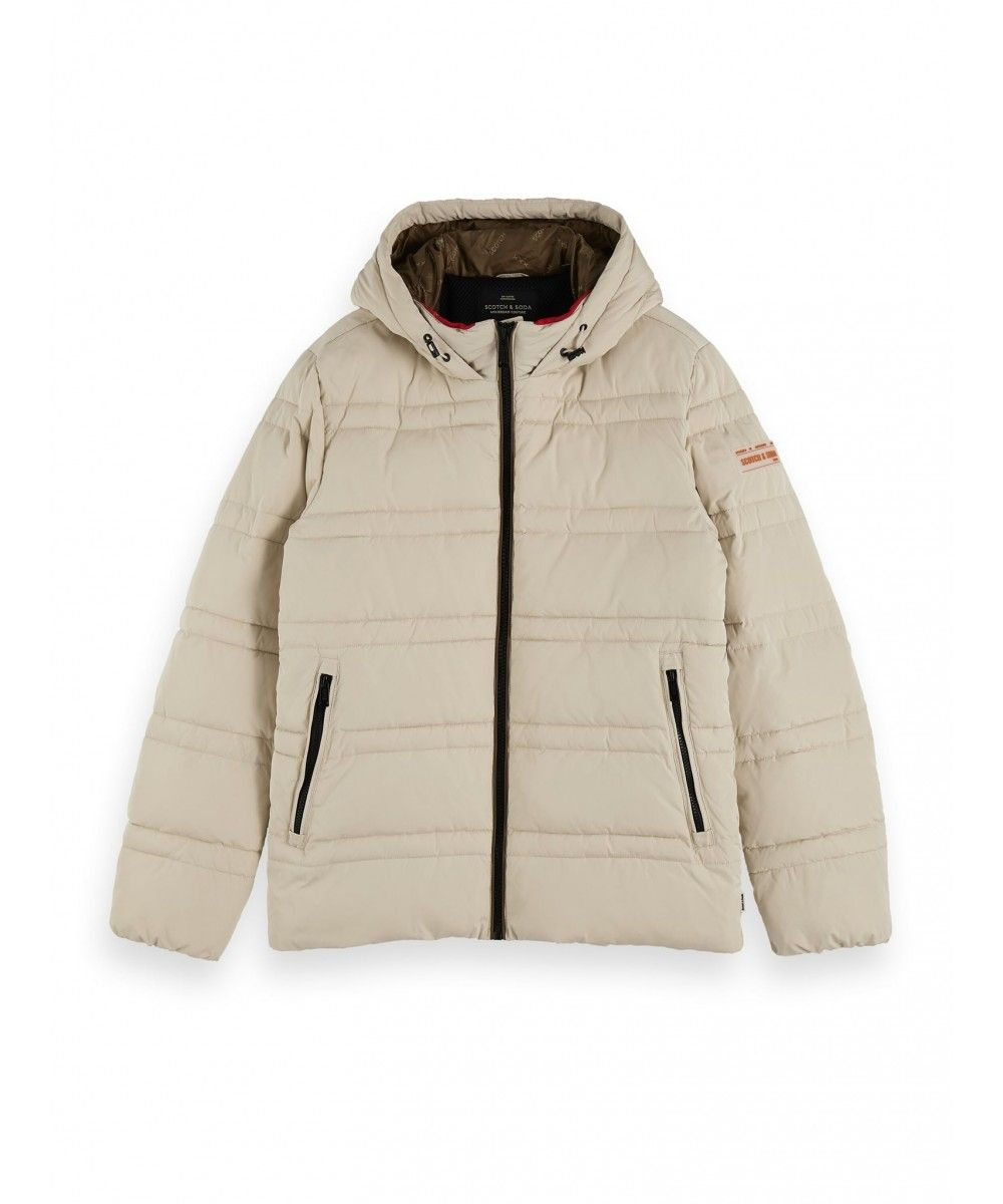 Scotch & Soda Classic hooded PrimaLoft