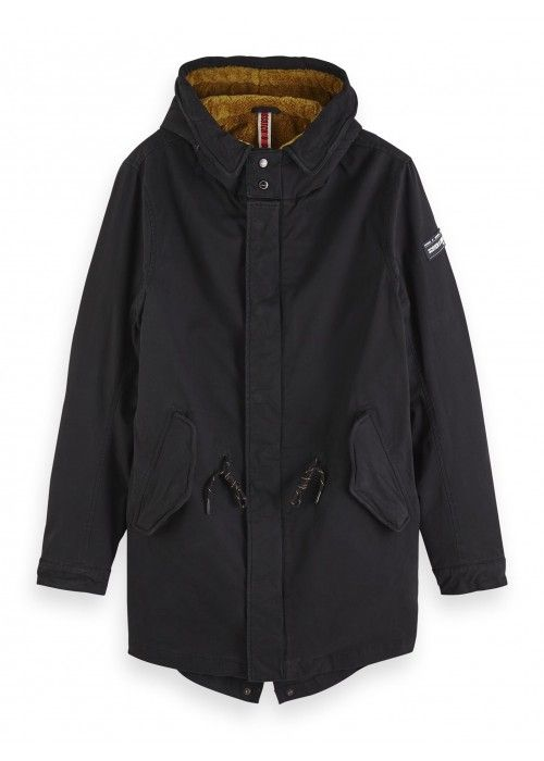Scotch & Soda Classic hooded parka