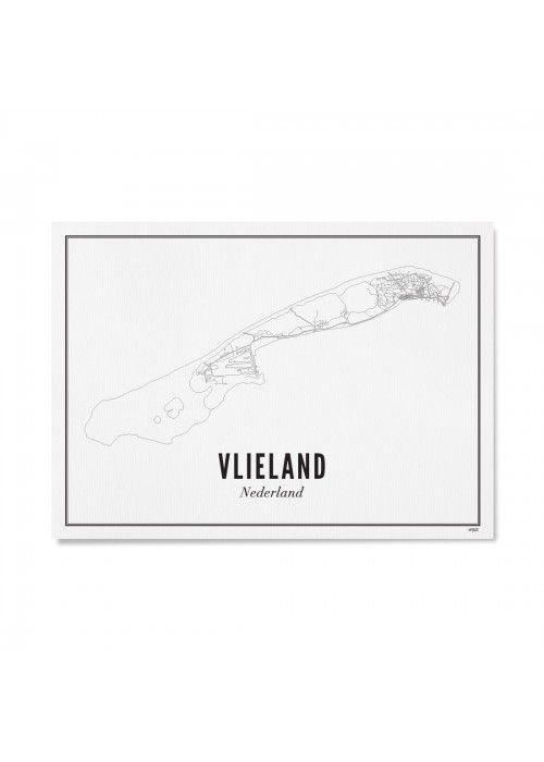 Weekend&Holiday  Kaart Vlieland