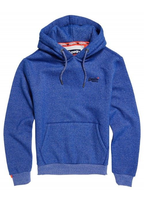 Superdry Orange label classic hood