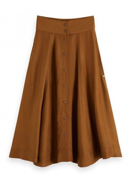 Maison Scotch Midi length skirt