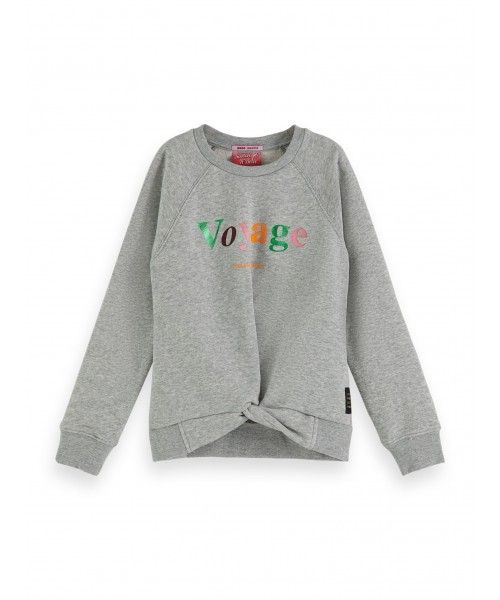 Scotch R'belle Crewneck sweat with special wr