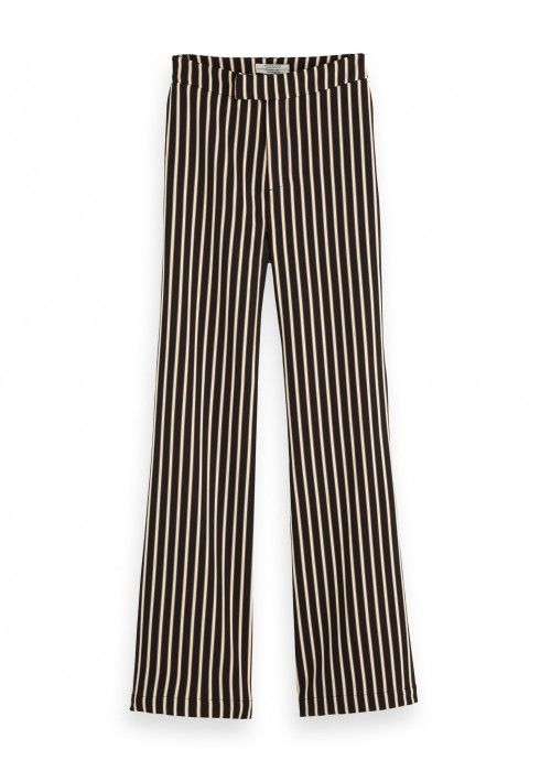 Maison Scotch Striped Flare pants