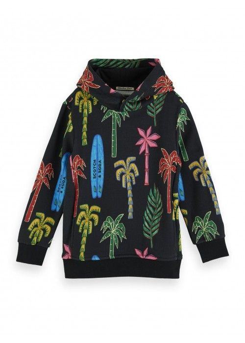Scotch Shrunk All-over printed hoody