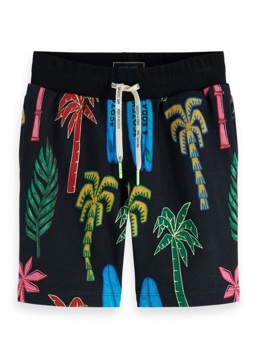 Scotch Shrunk All-over printed sweatshorts