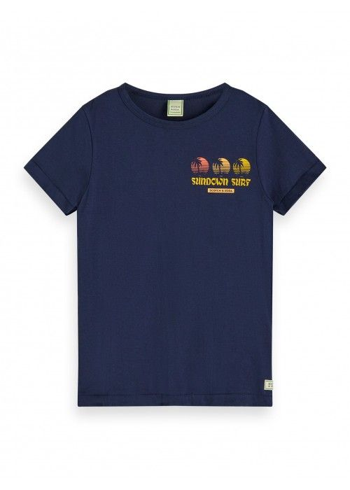 Scotch Shrunk Tee in organic cotton with