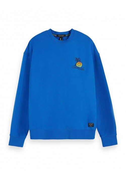 Scotch & Soda Crewneck sweat with colourful